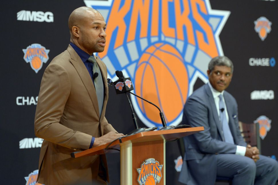Bill de Blasio to Derek Fisher: 'People Really, Really, Really Want a Championship'
