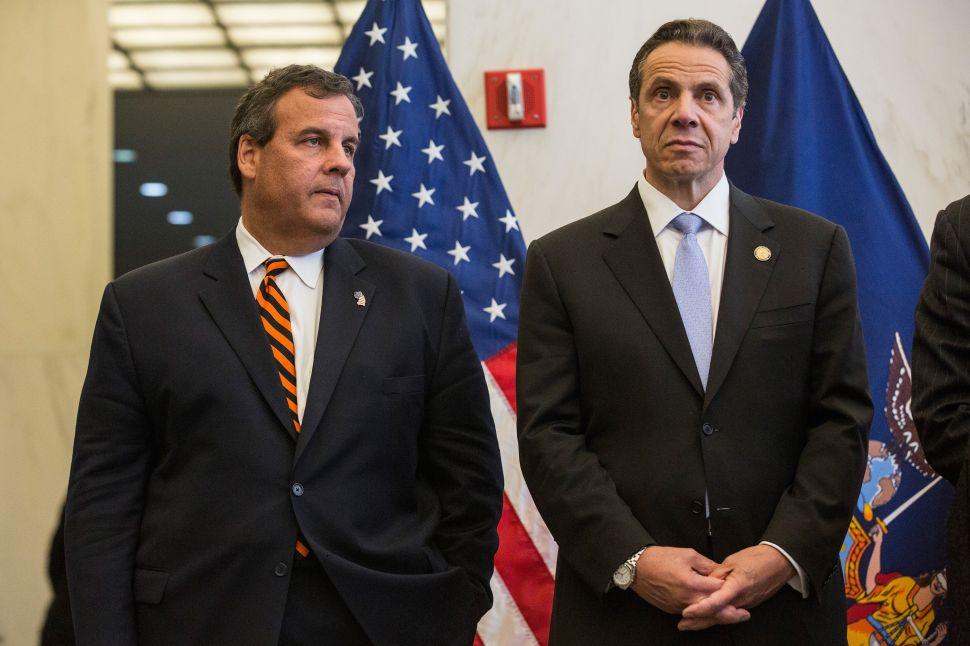 Cuomo and Christie Ask Feds to Pay Half of Cross-Hudson Tunnel