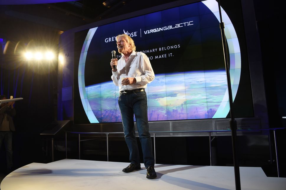 Beam Me Up, Richard Branson: The Space-Obsessed Billionaire Talks Rockets and Vodka