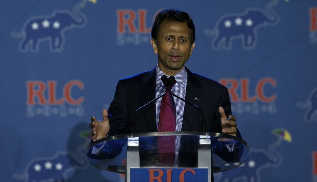 Louisiana Governor Bobby Jindal (Photo by Justin Sullivan/Getty Images)