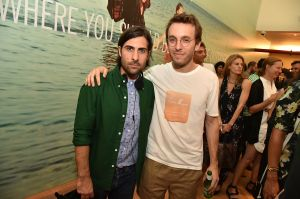 Jason Schwartzman and Band of Outsiders Creative Director Scott Sternberg (Photo: GettyImages)