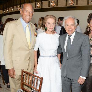 Ralph Lauren, Carolina Herrera, Oscar de la Renta at The 2014 Couture Council Luncheon Honoring Carolina Herrera