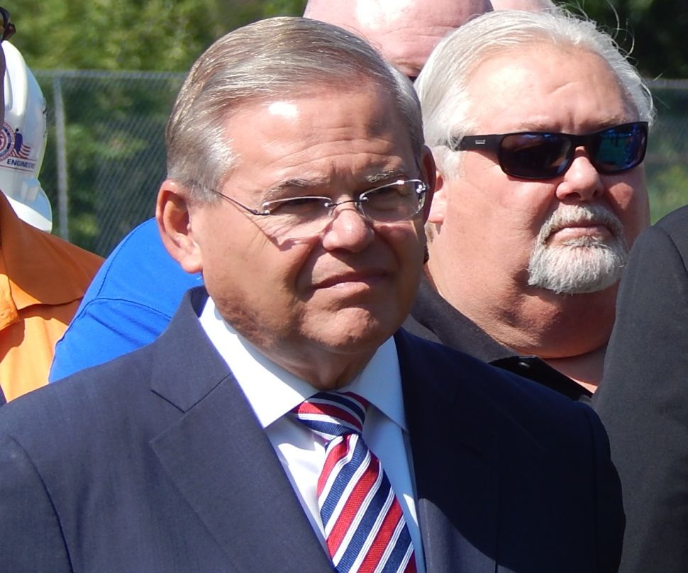 Menendez indicted on corruption charges