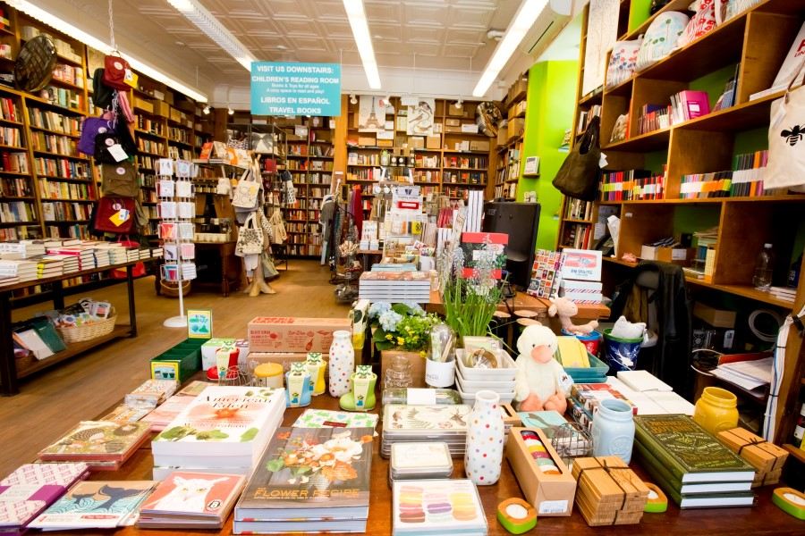 Celebrate Independent Bookstore Day Across the City on Saturday