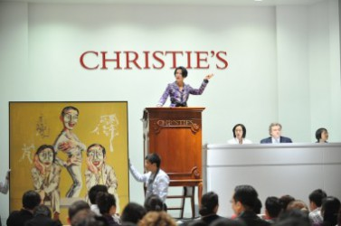 Christie's Expands Sales of Emerging Art Globally, Courts New Collectors