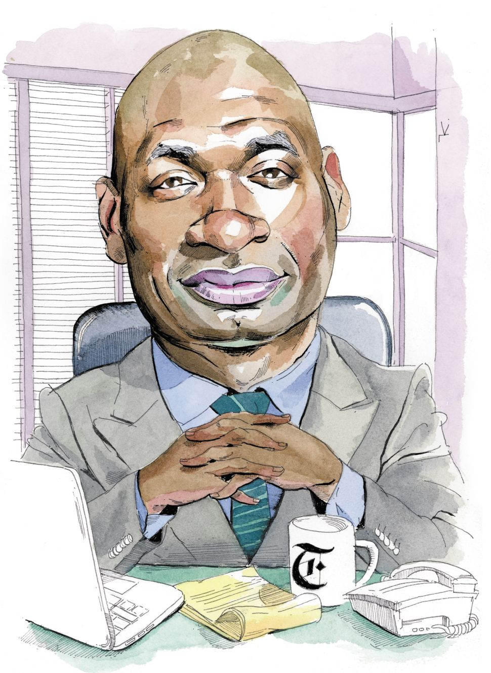 New York Times Opinion Columnist Charles Blow Celebrates Himself in New Memoir
