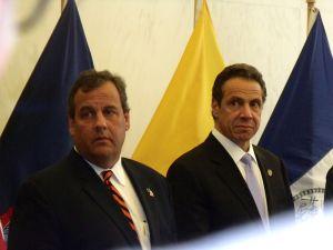 Gov. Chris Christie and Gov. Andrew Cuomo.