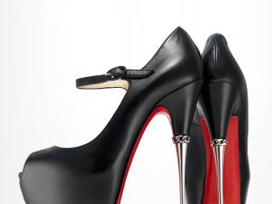 "Christian Louboutin. ""Printz,"" Spring/Summer 2013–14. Courtesy of Christian Louboutin. (Photo: Jay Zukerkorn)"