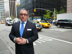 Gene Friedman, CEO of Taxi Club Management, the largest privately held taxi company in the US
