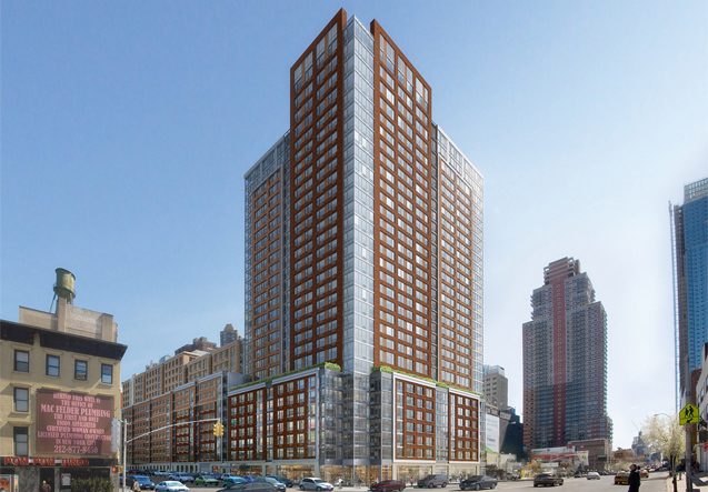 Gotham West's Empty 'Affordable' Apartments Are Not So Affordable