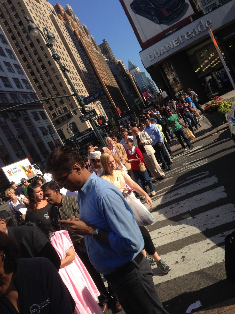 Eager Crowds Gather to Hear Indian Prime Minister at MSG