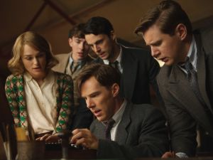 Alan Turing and his cohorts break the Enigma code in 'The Imitation Game.'