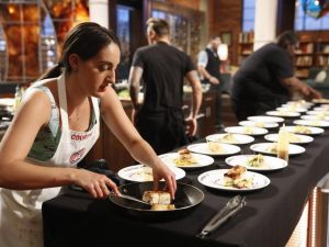 Masterchef finale: things heat up! (Fox)