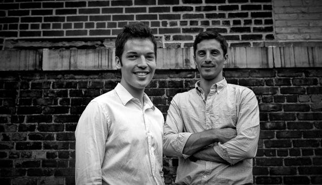 Mic founders Jake Horowitz (left) and Chris Altchek (right).