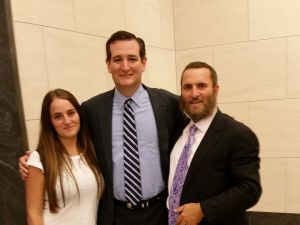 """Ted Cruz and Rabbi Shmuley will reunite on Monday to discuss """"Guarding Against A Nuclear Iran"""" with Elie Wiesel."""