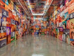 """Installation view, """"Ryan McGinley: Yearbook"""" at Team Gallery (Courtesy Team Gallery)"""