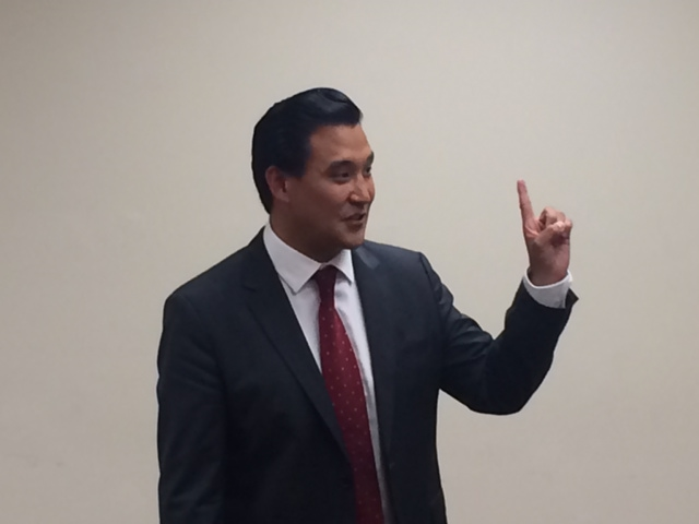 Cho bows out of 2016 CD 5 race
