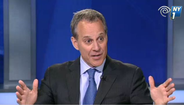 Attorney General Eric Schneiderman (Screengrab: NY1).