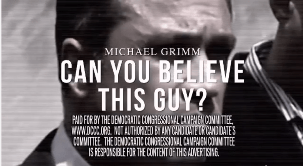DCCC Drops Second Ad Against Michael Grimm