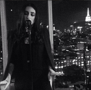 BANKS performs at The Top of The Standard