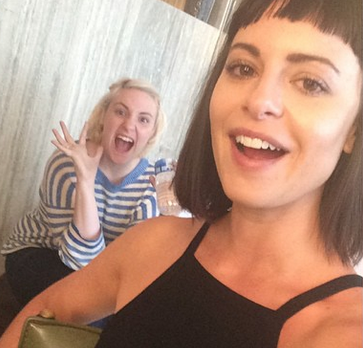 Lena Dunham and NastyGal's Sophia Amoruso Are Up to Something…