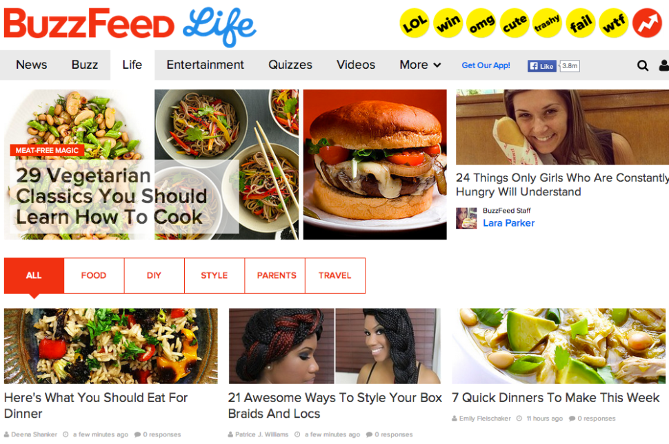 4 New Hires at BuzzFeed Life