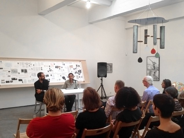 Pausing to Talk Shop: Sam Durant and Robin D.G. Kelley on Surrealism at Paula Cooper