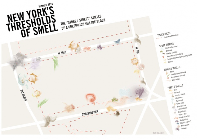 Artist Sniffs Her Way Around New York in the Name of Art