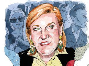 Glenda Bailey by Paul Kisselev. (Observer Media)