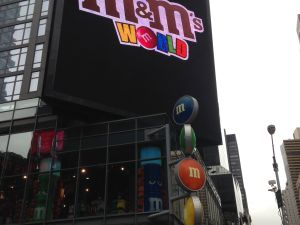 Times Square M&M store