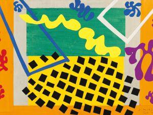 The Codomas (1943) by Henri Matisse, maquette for plate XI from the illustrated book Jazz (1947) (Musée national d'art moderne/Centre de création industrielle, Centre Georges Pompidou, Paris)