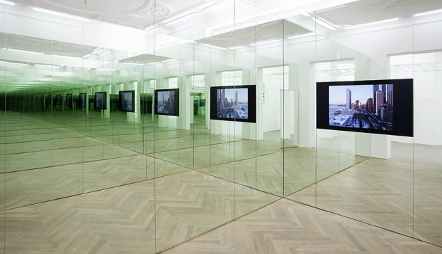 Liam Gillick, 'Hamilton: A Film by Liam Gillick' (installation view), 2014. (Courtesy Maureen Paley, London and Independent Projects)