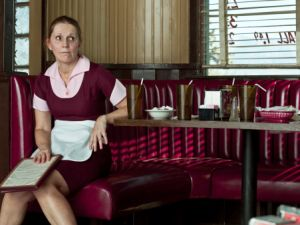 waitress in diner