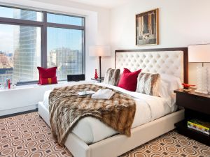 Parents can sleep easier halfway across the world knowing that their kids can order five-star room service in the middle of the night instead of scrounging for falafel on St. Marks Place. (Photo courtesy W Hotel)