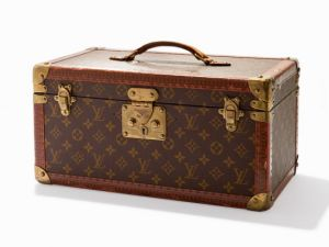 Louis Vuitton, Monogram Train Case, France, 20th century. Auctionata's Property of a Well-Traveled Gentleman Sale, October 23, New York. (Courtesy Auctionata)
