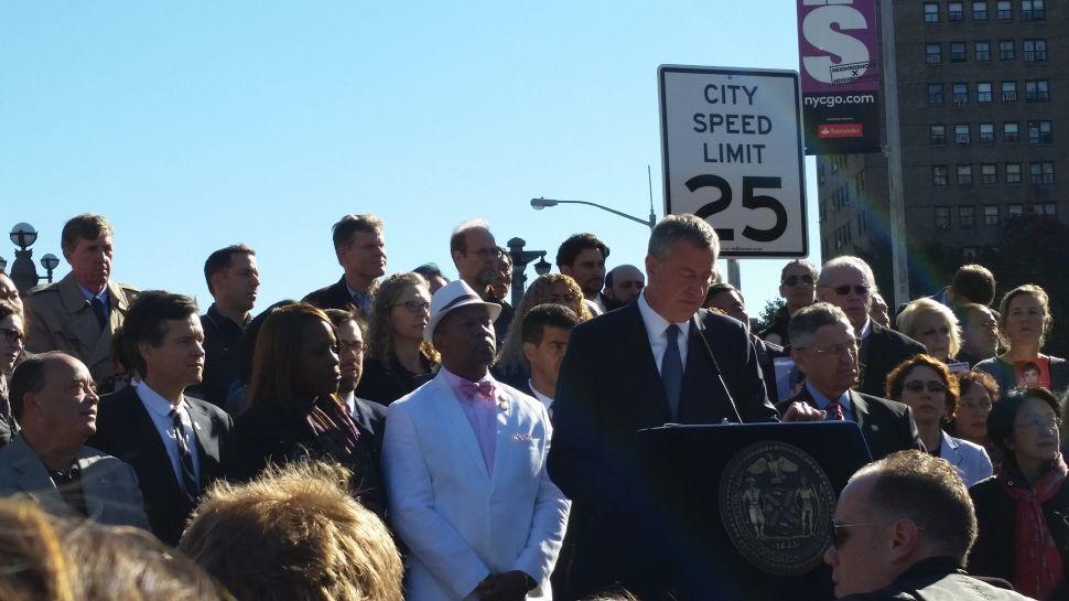 Breaking 25 M.P.H. Speed Limit Won't Necessarily Mean a Ticket