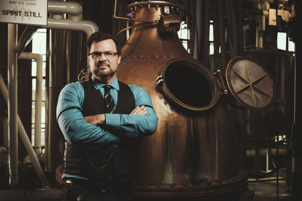 Liquid Lunch with Corsair's Darek Bell: Talking Hopped Whiskeys and Wimpy Americans