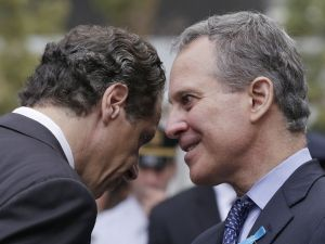 Andrew Cuomo and Eric Schneiderman (