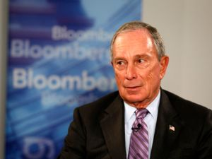 New .nyc domain names relating to Michael Bloomberg are quickly being snatched up (Photo by Bloomberg, courtesy Getty Images) .