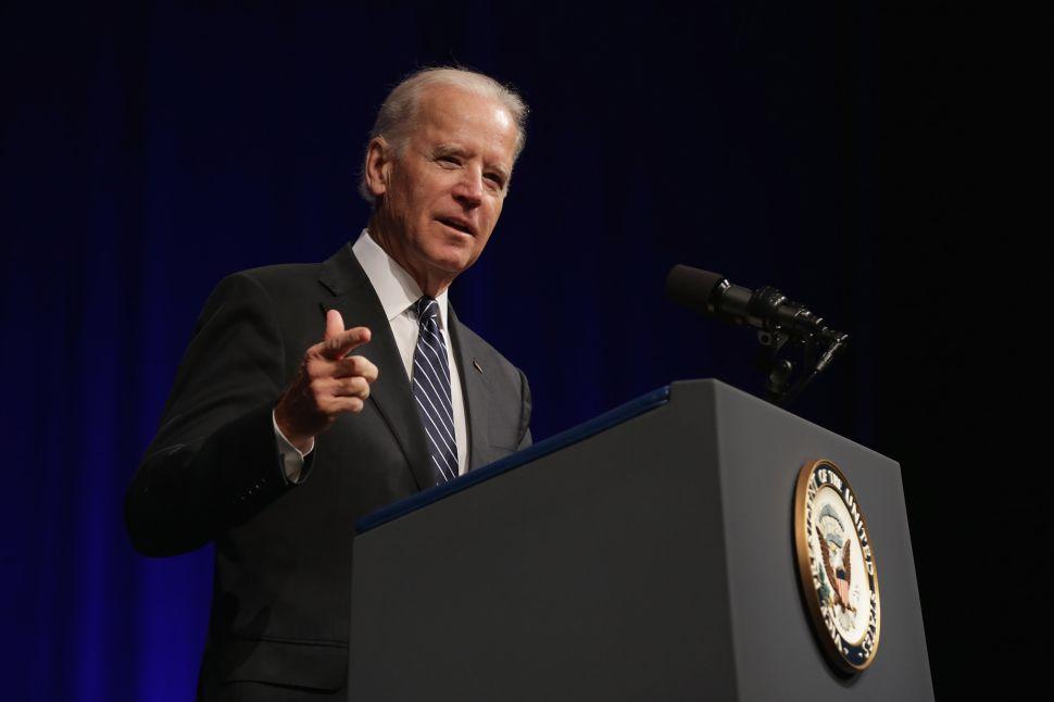 Joe Biden Says He's Not Running for President