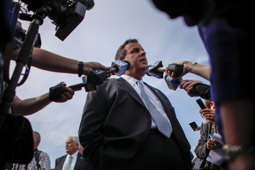 Chris Christie and the 2015-16 presidential departure strategy