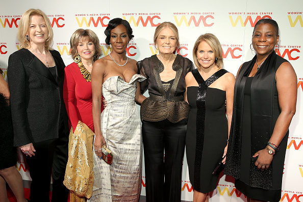 Barbara Walters and Katie Couric Honored at Last Night's Women's Media Awards