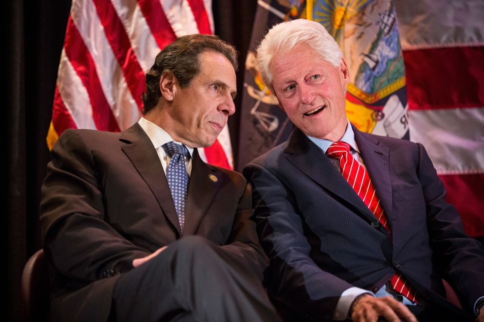 'The Last Gasp of Trickle-Down Economics': Bill Clinton Rallies for Andrew Cuomo