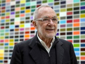 The artist Gerhard Richter. (Photo by Fabrice Coffrini, courtesy Getty Images)