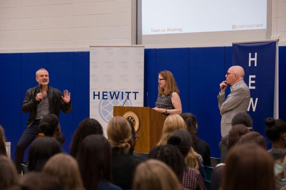 Gossip Guys: Nick Denton and Michael Wolff Teach Teenage Girls to Survive