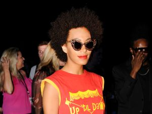 Solange Knowles. (Photo courtesy Patrick McMullan)