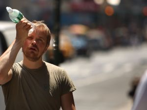 New York's temperature is projected to dramatically increase by 2050 (Spencer Platt/Getty Images)