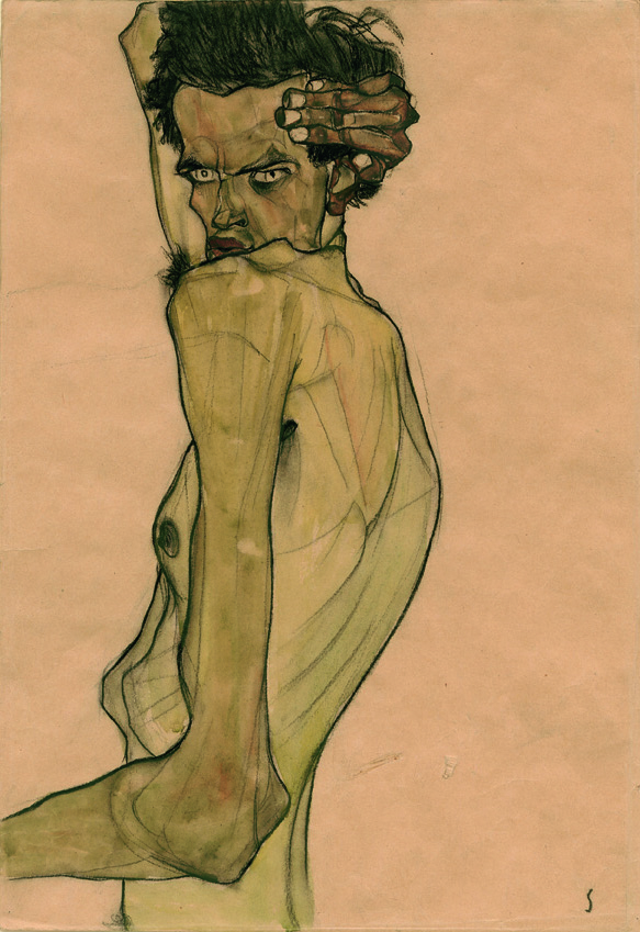 Art World Abstracts: Egon Schiele's Punk Rock Portraits, and More!