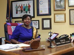 Senate Democratic Leader Andrea Stewart-Cousins (Photo: Aaron Adler).