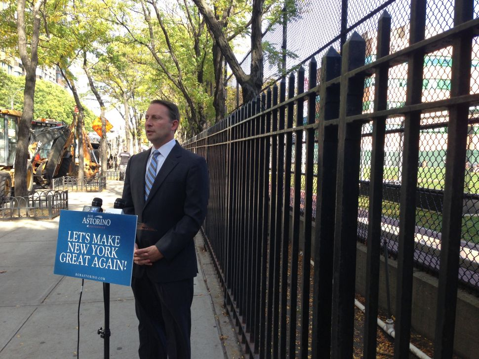 Rob Astorino Wants State to Nix Permit for Upper East Side Transfer Station